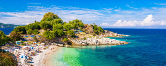 Wakacje na wyspie Korfu od 1114 zł (dwa posiłki w cenie)