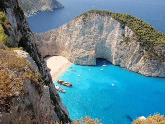 Lipiec: Tydzień na Zakynthos dla 4 (też 2+2) za 887 PLN/os! Loty, hotel przy plaży & transfery
